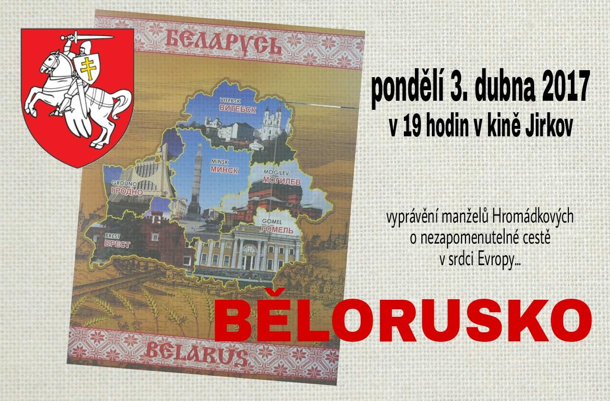 Pozvánka - Bělorusko
